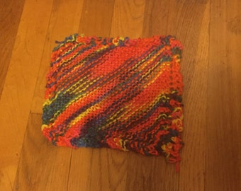 Knitted dishcloth-LARGE