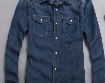 Denim long sleeve shirt  for aGatti mCC body