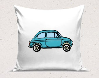 Classic Fiat 500 Cushion Cover