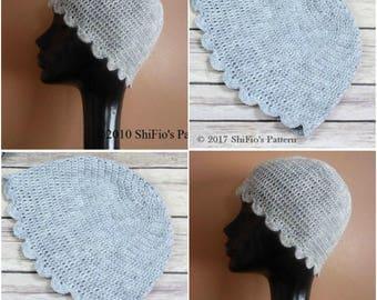"""Instant download crochet pattern Ladies """"Jane"""" Plain Hat, Beanie, Cap HCP1"""
