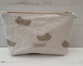 Peony and Sage Falling Feathers bag