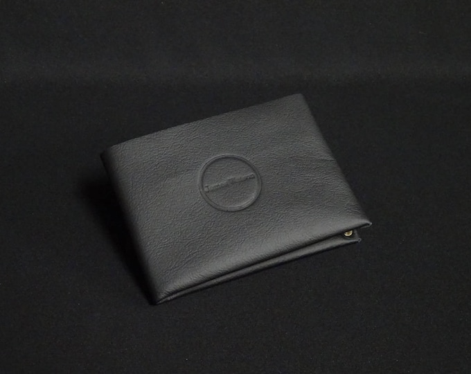 6&6-Pocket Wallet - Black - Kangaroo leather with RFID credit card blocking - Handmade - Mens/Womens - James Watson