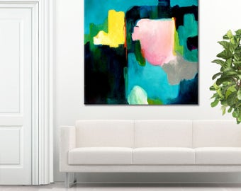 Contemporary wall art, original fine art print, giclee abstract print oil painting original, large abstract painting, canvas painting, print