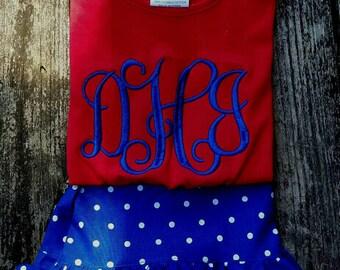 4th of july, Ruffle shorts, girls clothing, girl shorts
