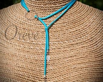 Siena silk necklace Choker