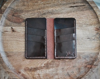 Classic Tall Bifold Wallet, Leather Wallet