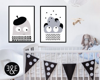 Kids wall decor, Nursery wall art, kids poster, scandinavian nursery, kids room decor, kids wall art, childrens art, nursery decor