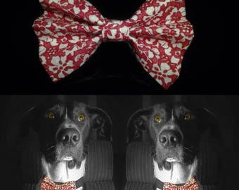 Elegant Dog Bow Tie - Red