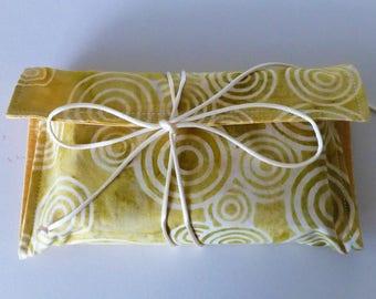 Silk Tarot Bag, Tarot Card Bag, Tarot Card Wrap, Corn Circles Tarot Card Wrap, Circles Tarot Bag, Silk Tarot Card Bag, Spiritual Goods,