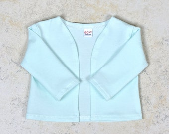 18 inch doll cardigan Color Icy Blue