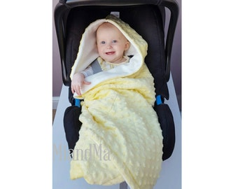 Car Seat Blanket Etsy