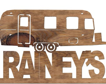 Custom Handmade Travel Unit