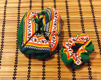 Handmade Hair Scrunchies