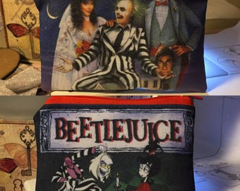 Beetle juice  coin/card pouch