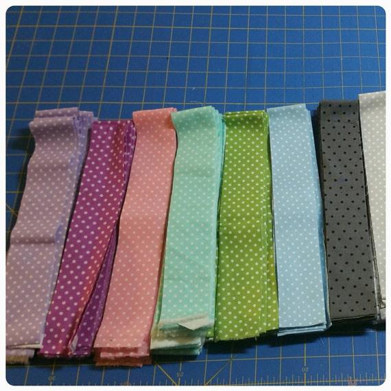 Polkadot Binding Quilt Fabric Binding Single Fold Binding