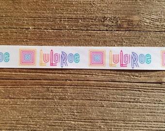 Lularoe inspired LLR  7/8 Inch Grosgrain Ribbon
