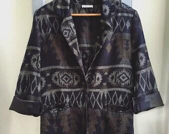 Vintage Blazer // South Western Jacket // Navajo Jacket