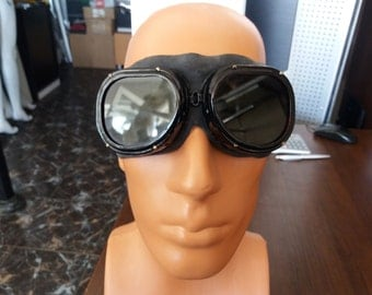 Vintage 1980's Soviet Red Army Safety Goggles - NEW