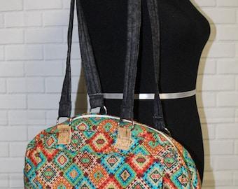 Satchel messanger bag, purse, carry on, hand bag