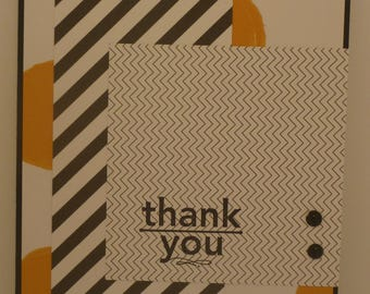 Bright Thankyou Card 1546