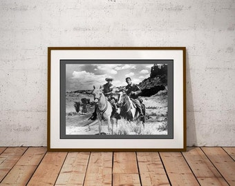 Lone Ranger & Tonto Poster