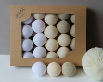 Cotton Balls Pearl 35 items