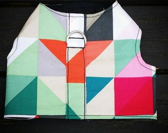 Ready for Shipping Geometric Dog Harness, Dog Vest, Pet Accessories