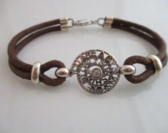 Customizable bracelet in sterling silver
