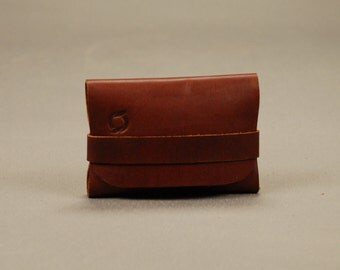 Redoker Mr Tucker Card Wallet - Genuine leather wallet / Mens wallet