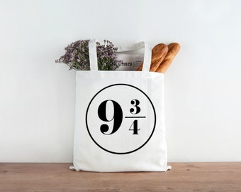 Harry Potter Logo Grocery Tote and Book Bag