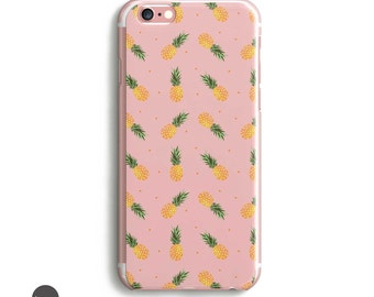 iPhone 7 Case Pineapple, Pineapple iphone case, pineapple iphone 6 case, iphone 5 case, iphone 6s plus case, trendy phone case, iphone se