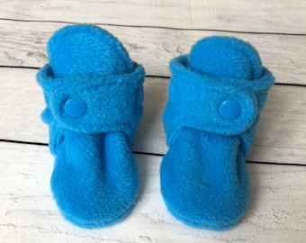 Fleece Baby Boots | Baby Booties | Fleece Baby Booties | Baby Gift | Newborn Boots | Baby Shoes | Soft Baby Boots