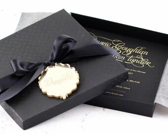 Onyx Boxed Invitation