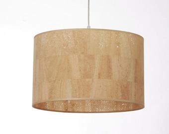 Lamp shade D. 40 cm, Cork
