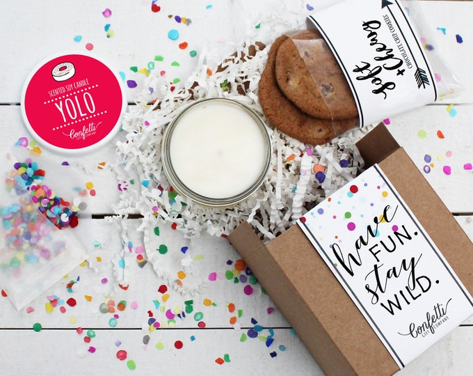 Mini Have Fun, Stay Wild Gift Box - Birthday Gift | Friend Gift | Send a Gift |  Long Distance Gift | BFF Gift | Thinking of Your Gift