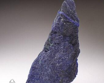 Azurite with Malachite Crystal Specimen, Democratic Republic of the Congo
