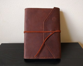 Large Soft Leather Journal (Refillable)