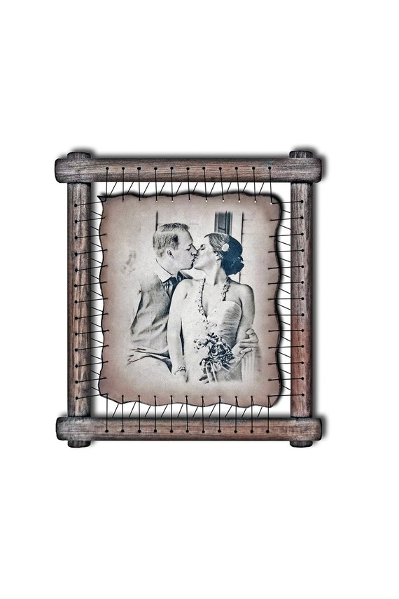 Lace Anniversary Gift LEATHER ENGRAVING 13th Wedding