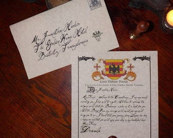 Letter From Count Dracula to Jonathan Harker
