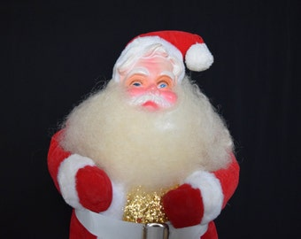 Kitschy Vintage standing Santa Claus - Christmas Holiday Decor 1940's/1950's