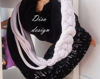 women unique infinity scarf