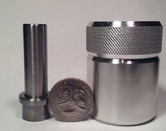 Coin Ring Center Punch for Quarters. Comes with your choice of punch size!!!