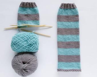PATTERN - COMFY ballet legwarmers knitting pattern