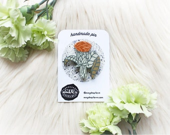 Thistle Handmade Pin