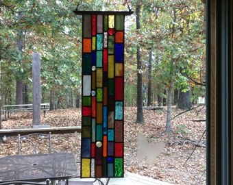 Hanging Stained Glass Suncatcher