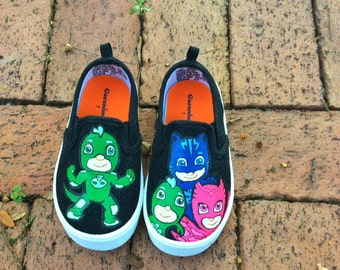 PJ Mask shoes toddler size sale 25 a pair all other sizes 30 a pair