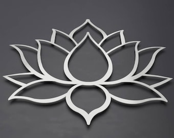 Lotus Flower Wall Art lotus flower metal wall art lotus metal art home decor