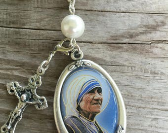 St. Mother Theresa car rosary