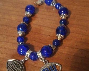Hand made beaded charm bracelets