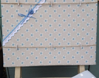 Star notice board, peg board, memo board, photo storage, memo holder, appointment planner. Wedding planner